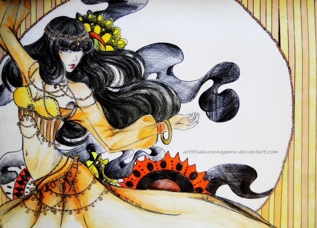 Odalisque by SakuraoNagame