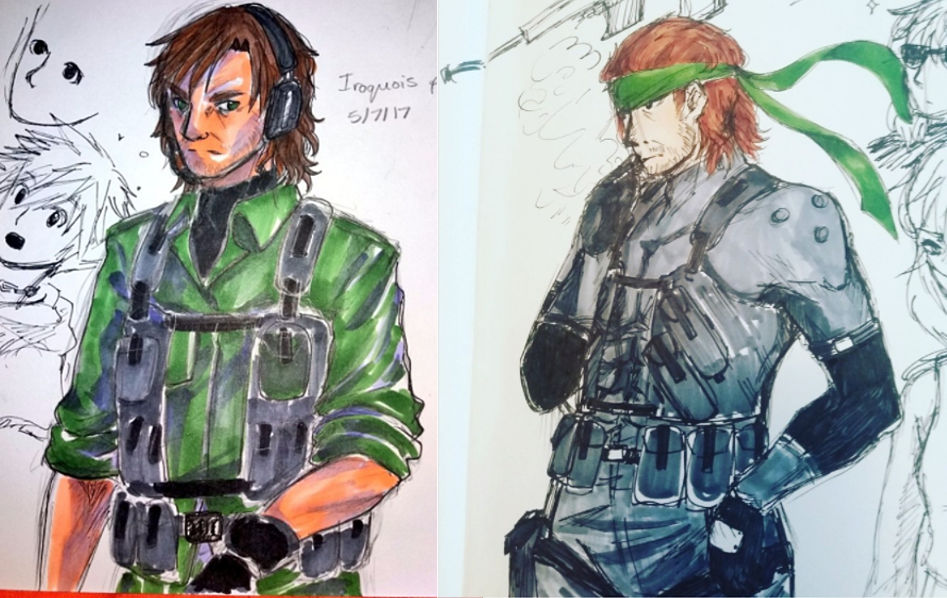 Mgs2 Solid Snake Copic Doodles By Miko Maestra On Deviantart