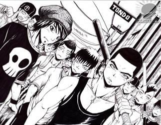Tondo Boys by tarotski