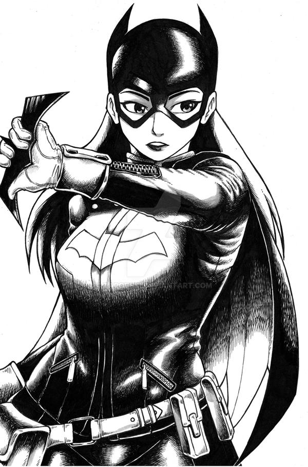 Bat Girl by tarotski