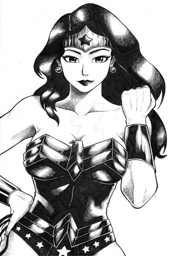 Wonder Woman by tarotski