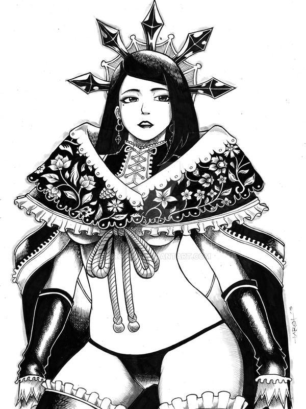 Maria by tarotski