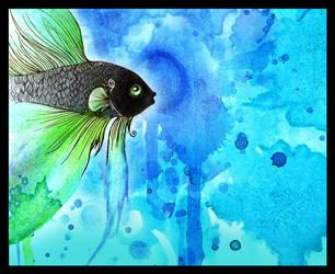 Julio the Fish by tyleramato