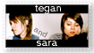 Tegan and Sara - Stamp by imbrokentoday