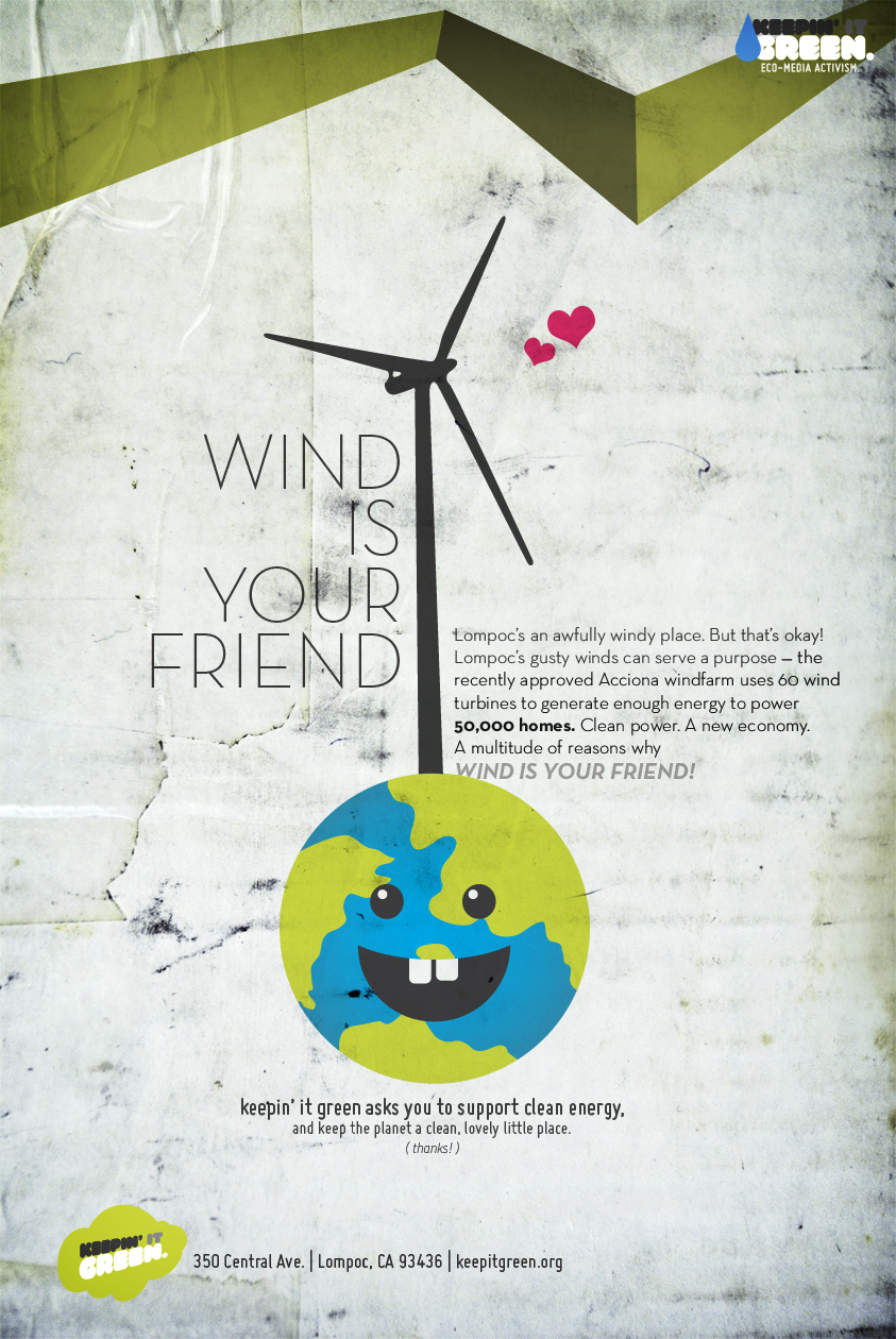 WIND IS YOUR FRIEND