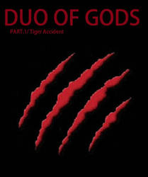Duo of Gods comic cover by 2rich4uboy