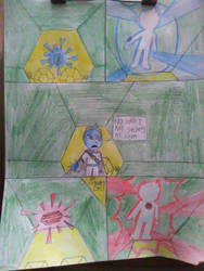 moonstone and agate jailbreak comic page by 2rich4uboy