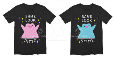 Same look, Ditto by UncannyViolet