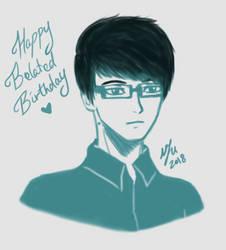 Happy Belated Birthday 2k18 by UncannyViolet