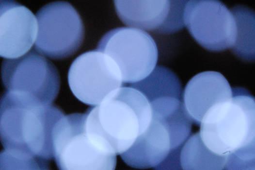 Blue bokeh 2