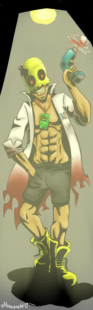 Doctor sonrisas by Maopochtli