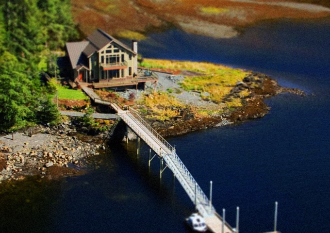 Tilt-Shift Lodge by ExtraNoise