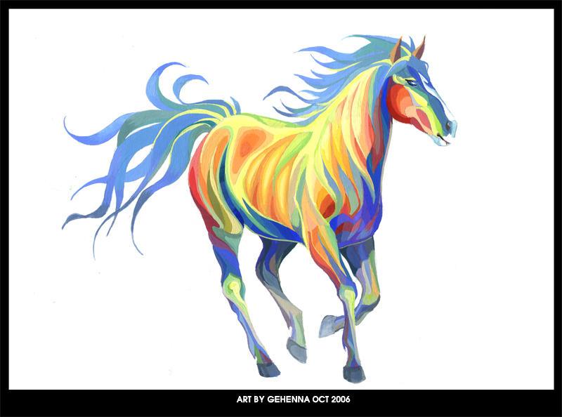 Horse by gehenna1986