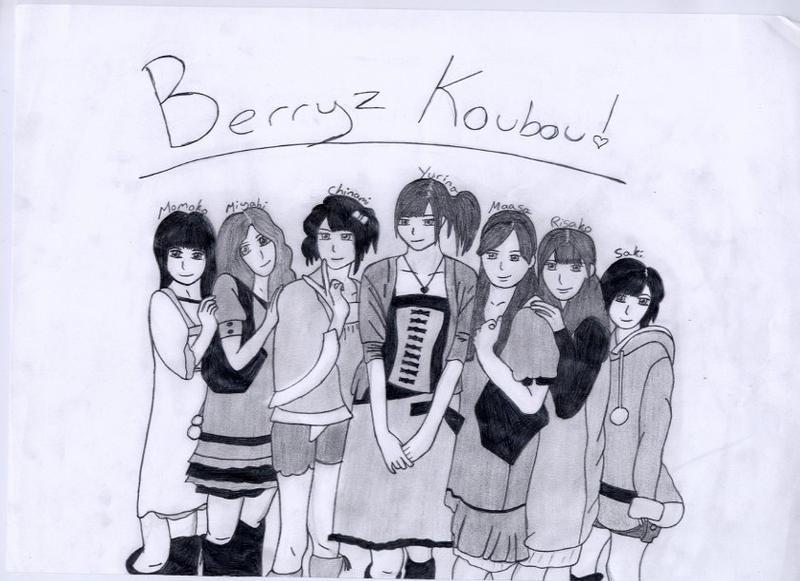 Berryz Koubou by Luna-Rox
