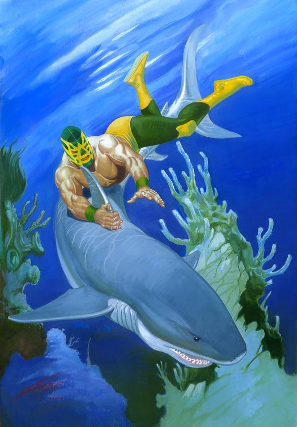 FISHMAN COVER by RAFAELGALLUR