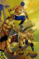 ATLANTIS WARRIORS by RAFAELGALLUR