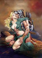 LOVE OF TWO WORLDS by RAFAELGALLUR