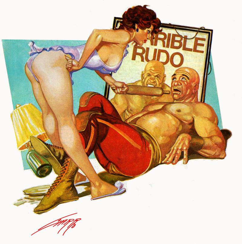 the terrible rude by RAFAELGALLUR