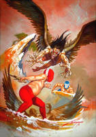 Harpies by RAFAELGALLUR