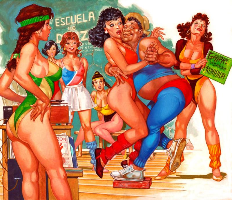 Sensacional de Maestros-escuela de danza by RAFAELGALLUR