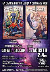 Comikaze-28 Invitacion by RAFAELGALLUR