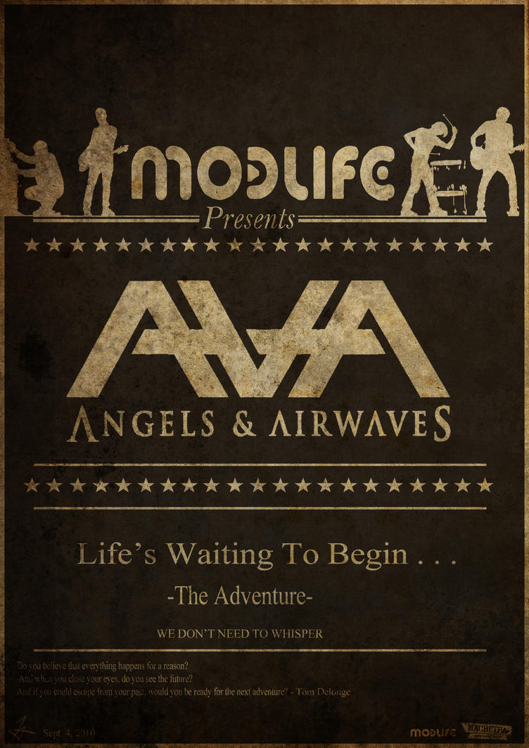 Angels And Airwaves poster by chunkylover731