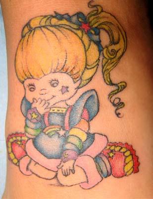 Rainbow Brite Tattoo By Artbywood On Deviantart