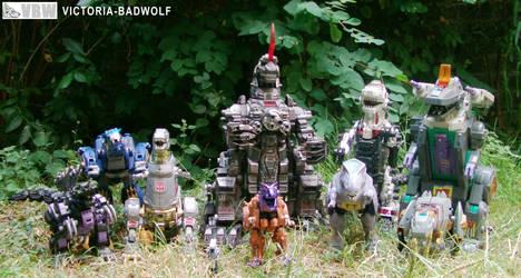 All T-Rex Robots by VICTORIA-Badwolf