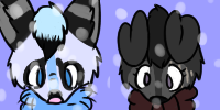Rio and Scarlet Christmas Icons (PC) by Tails-Crossing