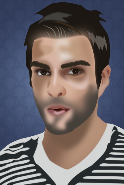 Photography, Photoshop Portraits, and occasional graphics Zachary_Quinto_by_KatieVengeance