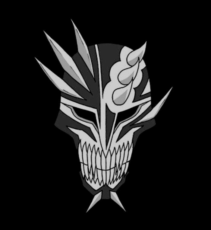 Vizard mask hollow by aflakhurrozi on deviantart - Ichigo vizard mask ...