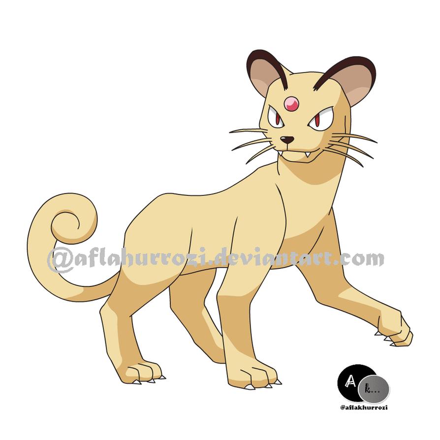 Pokemon Persian by aflakhurrozi on DeviantArt