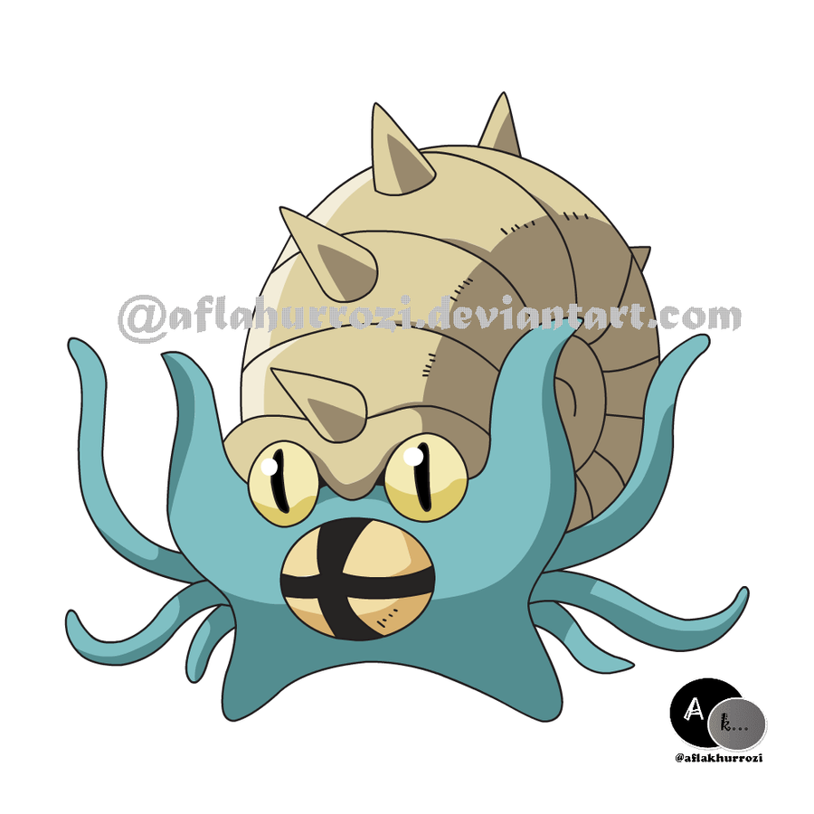Pokemon Omastar 202761078