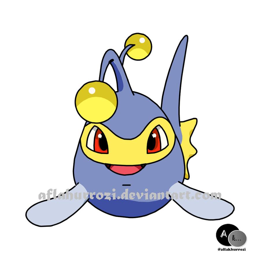 how to draw lanturn pokemon