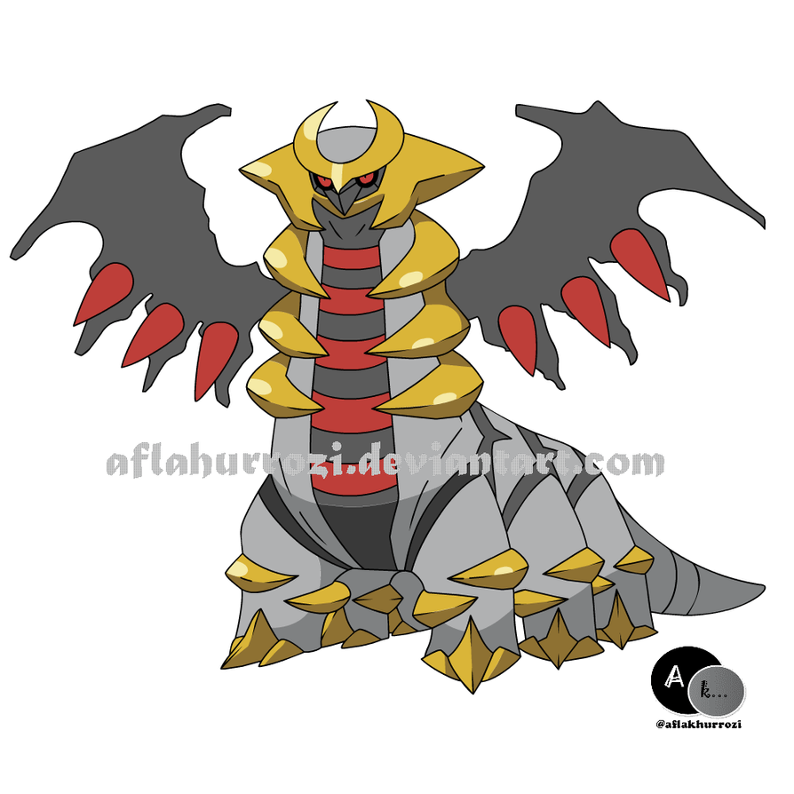 Giratina Platinum: Pokemon Giratina By Aflakhurrozi On DeviantART
