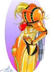 Sexy Samus by Mercurian