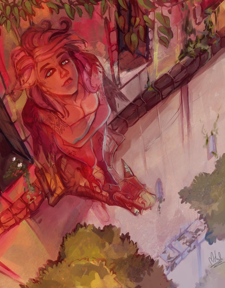 Harpy again by Mikado13