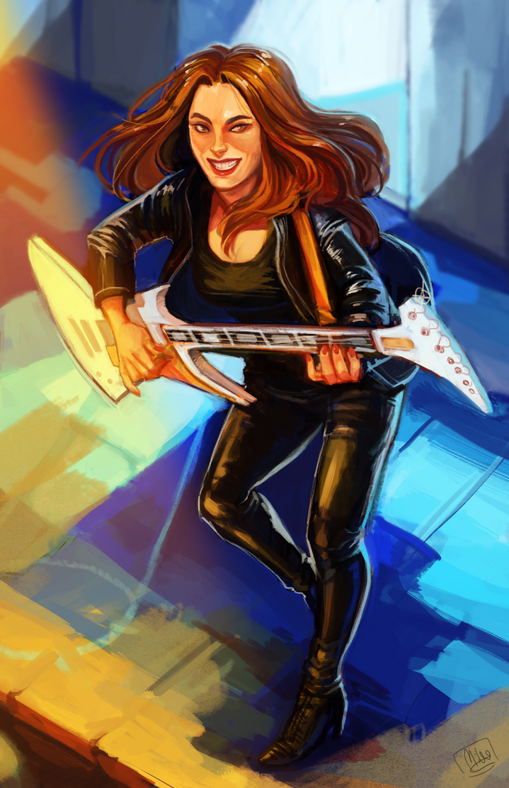 [COMM] Guitar Hero by Mikado13