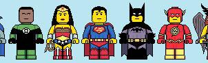 Lego'd Justice League