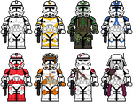 Lego'd Clone Troopers 2