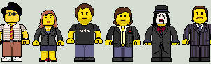 Lego'd The IT Crowd