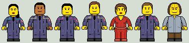 Lego'd Star Trek Enterprise by Ripplin