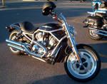 Black Harley-Davidson V-Rod