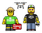 Lego'd Jacob the Carpetbagger and Adam the Woo