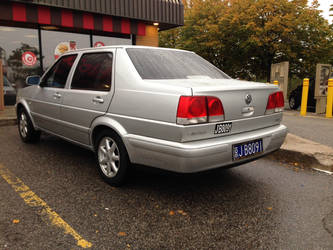 Chinese FAW Mk2 Jetta, part 2 by Ripplin