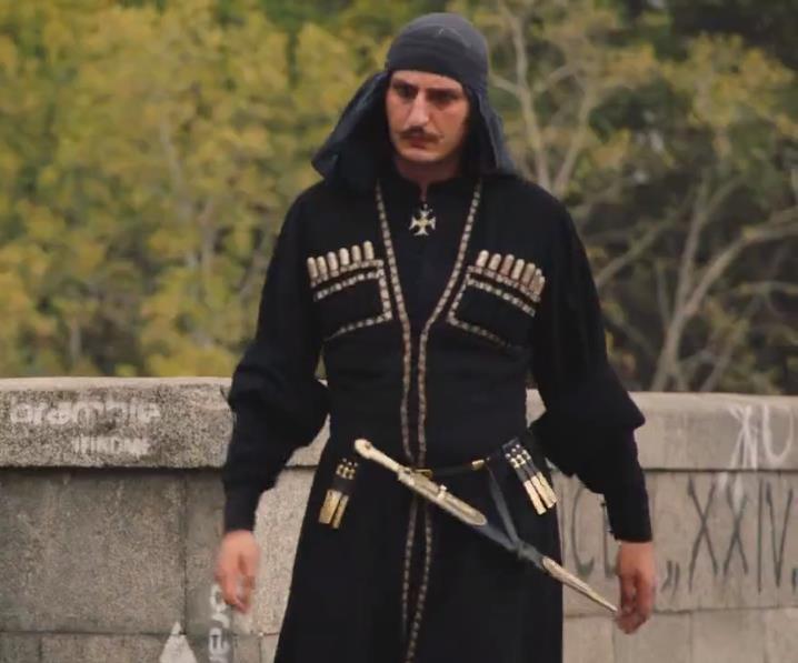 Tbilisi, Georgia man by Ripplin