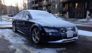 Shivering Audi RS7