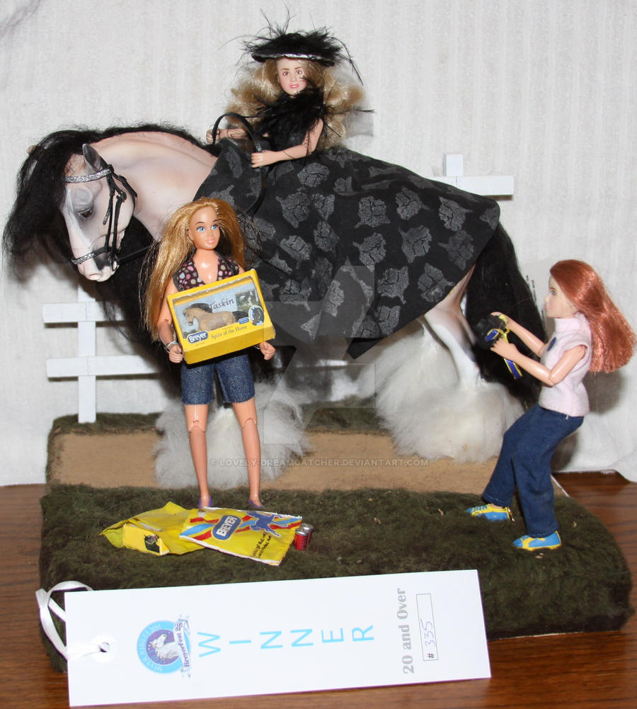 BreyerFest Party Time Model Contest ~ My Diorama by Lovely-DreamCatcher