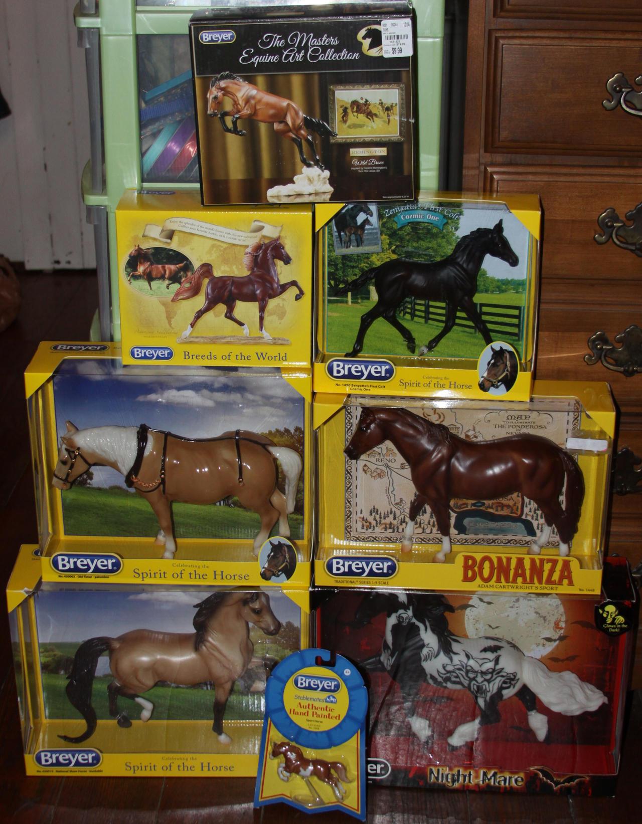 My Breyer Christmas Gifts by Lovely-DreamCatcher