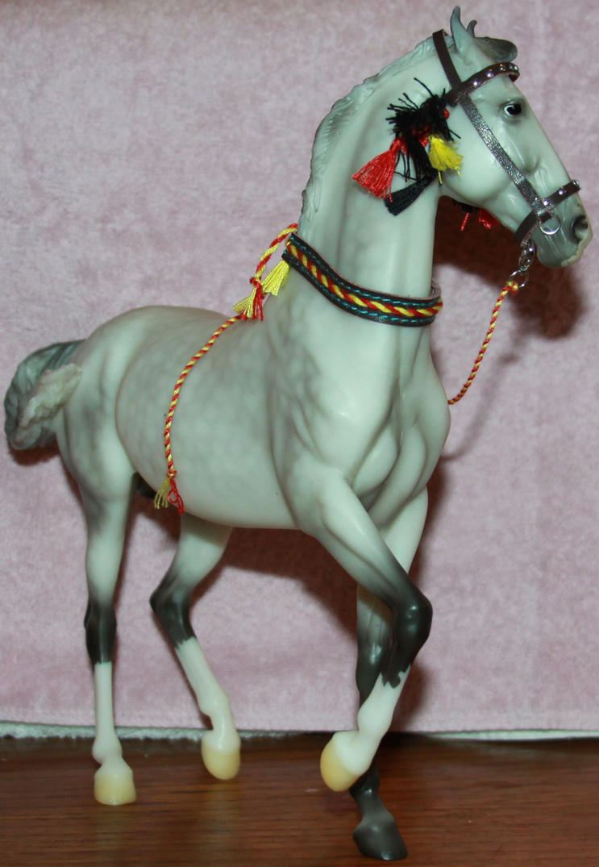 Breyer - Rajah 5 of 5 Stock~ Marwari Horse by Lovely-DreamCatcher